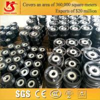 Wholesale Electric driven forging overhead travelling big conveyor wheel from china suppliers