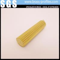 Wholesale Gear Section Brass Rod Sheet Shining Brass Rod C3800 for Decoration from china suppliers