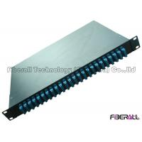 Wholesale 48 Fibers Swing Out Fiber Optic Patch Panel Rotate Fiber Distribution Box SC DX from china suppliers