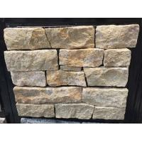 Buy cheap Giallo Atlantide Marble Stone Veneer with Steel Wire Back,Marble Ledger Stone Cladding from wholesalers