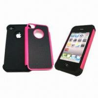 Wholesale Triple Protection Case for iPhone, with Inner Rubber Protection Sleeve from china suppliers