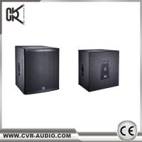 Wholesale Party Sound  Wedding Audio Club Speaker Sub-bass Active 18 inch Woofer from china suppliers