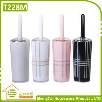 Wholesale New Fashion UK Grid Unique Design Bath Plastic Popular Toilet Brush from china suppliers