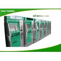 Quality Medical Clinic Self Service Check In Kiosk With Laboratory Test Report Printer for sale