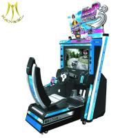 Wholesale Hansel Coin operated electronic kids racing car games machine adult car driving simulator machine from china suppliers