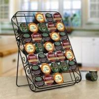 Wholesale 35K Cup Coffee Storage Rack, Made of Iron from china suppliers