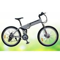 Wholesale 50 Pounds Folding Electric Bike 26 Inch Folding Electric Bicycles With Disc Brake from china suppliers