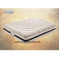 Wholesale Resilient 3D Pillow Top Compression Mattress 10 Inch For Hotel / 2000 Pocket Mattress from china suppliers