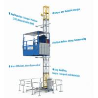 Quality Construction Material / People Carrier Rack And Pinion Hoists CH750 Single Cage for sale