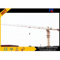 Wholesale 1.3t Tip Load Building Construction Machine , Flat Top Tower 40m Free Standing Height from china suppliers