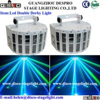 Wholesale IP20 RGBW LED Disco Lights 2pcs*10W LED Double Butterfly Stage Light Effect from china suppliers