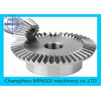 Wholesale Commercial Die Steel Casting Straight Bevel Gear Diameter 2000 - 8000mm from china suppliers
