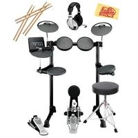 Wholesale Yamaha DTX450K Electronic Drum Set Bundle with Drum Throne, Drum Sticks, Headphones, and Polishing Cloth from china suppliers