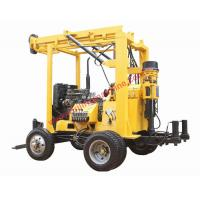 Wholesale XYX-3 trailer mounted hydraulic tower 600m core drilling water well drill machine from china suppliers