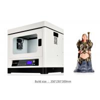 Buy cheap Large Format 3d Printer Home Use / 3d Printer Abs Filament Metal Structure , DC 110-230v from wholesalers