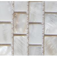 Wholesale Handmade Beautiful Sea shell Wall Mosaic Freshwater Sea Shell Mosaic Pattern 10x20mm from china suppliers
