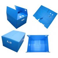 Wholesale PP Corrugated Plastic Sheet/Folding Corrugated Plastic Reusable Box from china suppliers