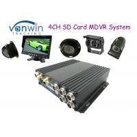 Wholesale Black Box HD 4CH SD Card Mobile DVR Support 256GB, Dual SD Card Slots from china suppliers