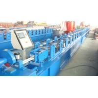 Wholesale Flying Saw Cutting Shutter Door Forming Machine , PLC Sheet Metal Roll Former from china suppliers