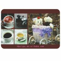 Buy cheap Wooden Placemats And Coasters , Protects Table From Water Marks from wholesalers