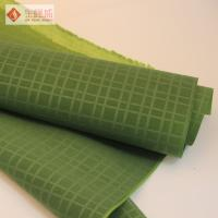 Wholesale Plain Upholstery Embossed Velvet Fabric Green Printed For Package from china suppliers