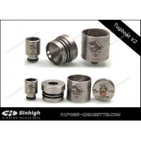 Wholesale Tugboat V2 RDA Dripping Atomizer 3 Posts Copper Center Pin Serialized Tugboat from china suppliers