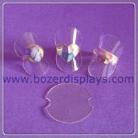 Wholesale Reliable Soft Rubber Ring Riser Display Stand-Clear from china suppliers
