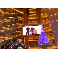 Quality 2000 Nits Indoor LED Advertising Billboard Full Color LED Display Smd3528 6mm Pixel Pitch for sale