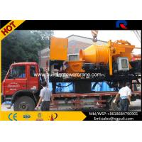 Wholesale 37kw Motor Power Concrete Mixer Pump Truck Oil Tank 300L weight 12600kg from china suppliers
