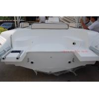 Quality PVC Material Inflatable Rib Boat Safety / Soft Dry Ride With 660 Cm Hull Length for sale