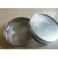 Wholesale Dia 200mm Laboratory Woven Wire Perforated Plate Standard Test Sieve from china suppliers