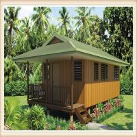 Wholesale Light gauge steel for main structure Wooden Home Beach Bungalows from china suppliers