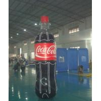 China Giant Inflatable Coca Cola Bottle for Advertising / Display on sale