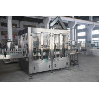 Wholesale 3 in 1 Glass Bottle Filling Machine With Aluminum Screw Cap , Beverage Filling Machine from china suppliers