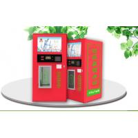 Wholesale Travel Area Filtered Water Vending Machines , Hot Water Bottle Vending Machine from china suppliers
