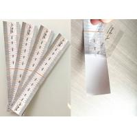 Quality Accurate Permanent Makeup Eyebrow Ruler Sticker Soft Disposable Transparant for sale