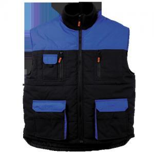 China Mens winter warm Workwear vest Flame retardant cloth in Black blue on sale