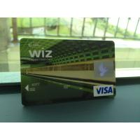Wholesale Glossy VISA Smart Card / Prepaid Debit Card without Personalization from china suppliers