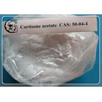Wholesale 50-04-4 Cortisone acetate to treat allergic reactions,  severe asthma and arthritis from china suppliers