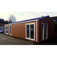Wholesale Modern Flat Roof Prefabricated House , Pre-built Homes Fireproof mobile home,Belgium Exported Mobile homes from china suppliers