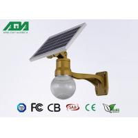 Wholesale Moon Style solar powered led lights with battery , light sensor timing function from china suppliers