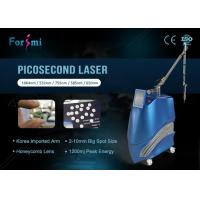 Buy cheap 2500W big power tattoo clear pigmentation removal 2018 New technology picosecond laser machine from wholesalers