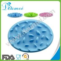 Wholesale Food-grade Silicone Interactive Slow Pet Feeder/Non-Skid Dog Cat Slow Eating Feeder Bowl from china suppliers
