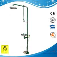 Wholesale SH712BSGF-Safety shower & eyewash station,SS304 emergency shower  safety shower with foot pedal from china suppliers