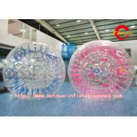 Wholesale Giant Clear Adult Water Zorbing Ball Custom Football Inflatable Body Zorb Ball from china suppliers
