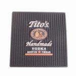 Wholesale Rectangular rubber bar counter spill mat PVC bar mat from china suppliers