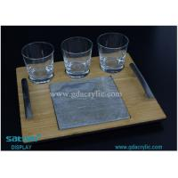 Wholesale Free Design Acrylic Serivng Tray For Bar , Any Size Personalised from china suppliers