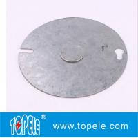 China Customized Electrical Boxes And Covers Round Cover For Switches / Receptacles on sale