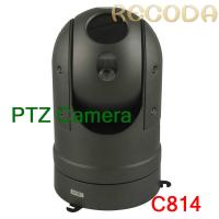 Wholesale IP66 Waterproof Car PTZ Camera Support Night Vision / Zoom Infrared , Metal Marerial from china suppliers