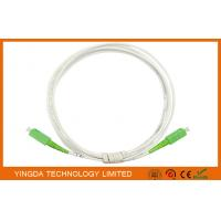 Wholesale SC / APC - SC / APC Indoor Fiber Optic Patch Cord GJXFH G657A2 LSZH from china suppliers